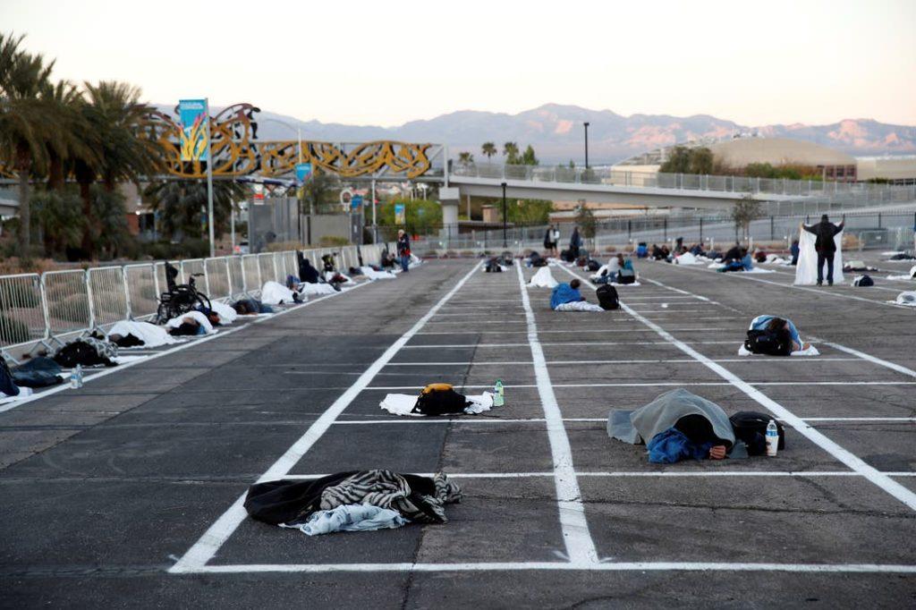 Steve Marcus fotografió Las Vegas como nunca se vio ni se esperaba ver. El coronavirus lo hizo