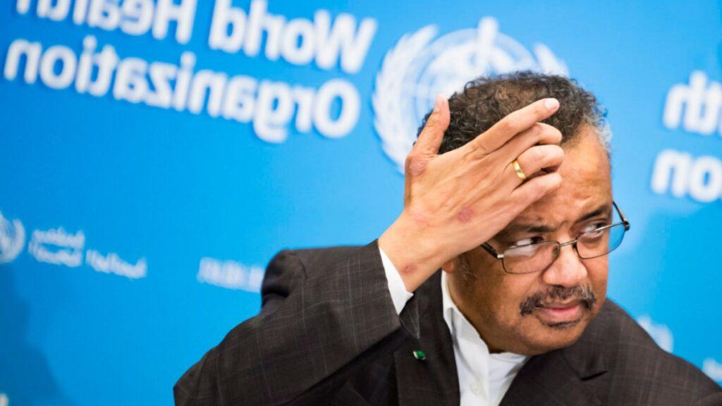 Tedros Adhonom Ghegreyesu -foto- líder del marxista Frente Democrático Revolucionario de Etiopía y colocado en ese cargo por el actual gobierno de China.