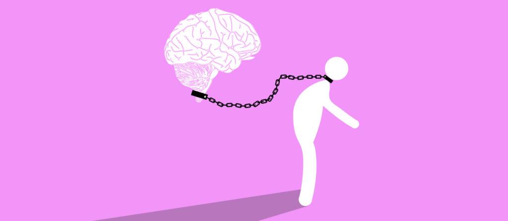 no estamos determinados por los nexos causales inherentes en los kilos de protoplasma sino que tenemos mente, psique o estados de conciencia diferenciados del cerebro material.