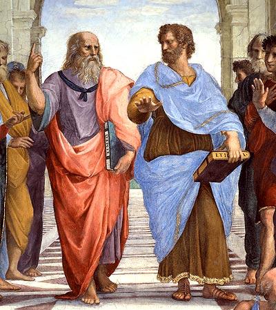 Platon, Aristóteles y a la verdad se llega dialogando